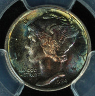 1924 Mercury Dime PCGS MS66