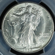 1938-D Walking Liberty Half Dollar PCGS MS66