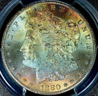 1880-CC Morgan S$1 PCGS MS65