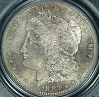 1882-S Morgan S$1 PCGS MS65