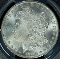 1883-O Morgan S$1 PCGS MS65