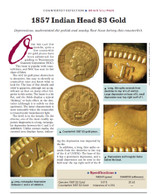 Article: 1857 $3 Gold Counterfeit