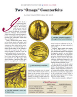 Article: 1907 $20 and 1882 $3 OMEGA Counterfeits