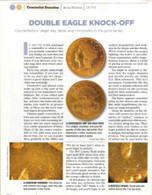 Article: 1907 $20 Liberty Head Gold Counterfeit