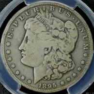 1895-S Morgan Silver Dollar PCGS VG-8