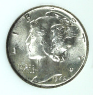 1942 Mercury Dime MS67FB Full Bands