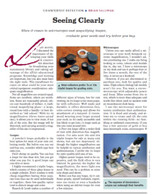 "Article: ""Seeing Clearly"""