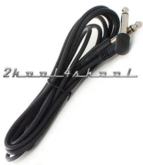 Guitar CABLE-Instrument Cord 6ft Black-keyboard, bass