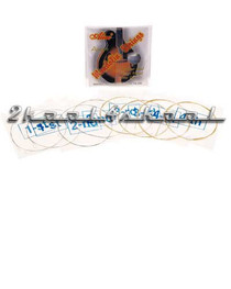 mandolin strings 8 string medium steel bronze wound