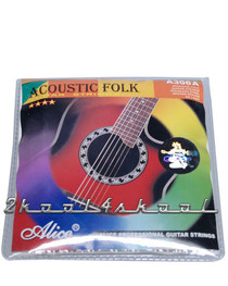 Folk acoustic Guitar Strings -steel 6-String .010 light