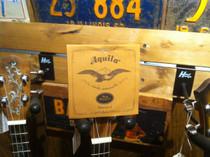 Set of Aquila Italia Nylgut Ukulele Strings Tenor Regular GCEA 10U 805240531056