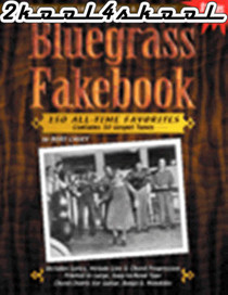 Bluegrass Mandolin Banjo FakeBook Instruction Music Song Fake book Watch & Learn
