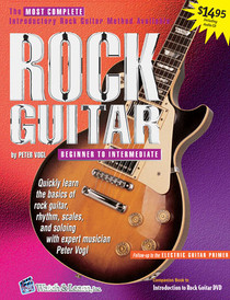 Beginning Rock Guitar Book CD Instruction Music Lessons Watch and Learn