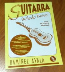 Ramirez Ayala Guitarra Metodo Breve 17 Paginas Facil Practico Sencillo Libro