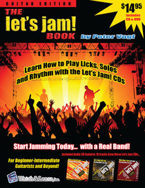 Let's Jam Learn Guitar Lesson Book & DVD & CD Instruction Watch and Learn