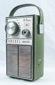 Vintage Drexel Hi-Power Solid State Am Transistor Radio MP3 or Guitar Amp
