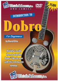 Intro to Dobro Lap Steel Guitar lesson DVD bluegrass Watch and Learn