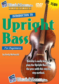 Intro to Upright BASS lesson DVD beginner standup double string Watch and Learn
