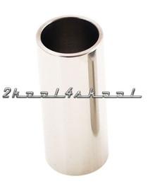 Guitar SLIDE steel metal tube Chrome bar 60mm large NEW