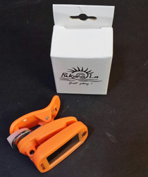 Orange Chromatic Electronic Digital Clip-on Ukulele Tuner guitar cello banjo uke