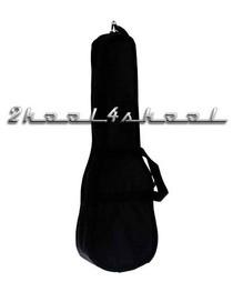 """Black UKULELE Gigbag soft case gig bag NEW 22"""""""