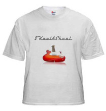 Official 2kool4skool Guitar T-Shirt Hanes 100% cotton