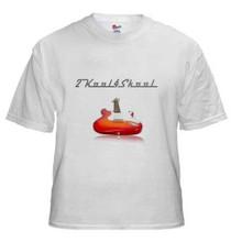 Official 2kool4skool Guitar T-Shirt Hanes 100% cotton