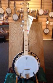 Left-Handed Deering Goodtime Two 5 string Banjo w Tone Ring & Resonator USA made
