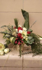 Merry and Bright -Holiday Arrangement (vase)