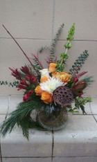 Treasured-Luxe Holiday Flowers $40.00-$85.00