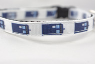 Tardis Cat collar