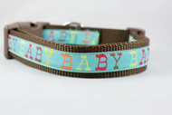 "Baby Boy Blue 3/4"" or 1"" wide"