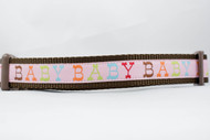 "Baby Girl Pink 3/4"" or 1"" wide"
