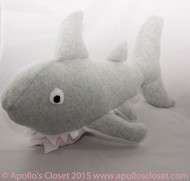 Great White Shark Dog Toy