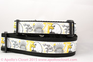 """We the People Patriotic Dog Collar 1 or 1.5"""" wide"""