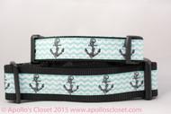 "Anchors on Aqua 1 or 1.5"" wide"