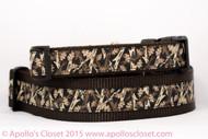 "Black Mossy Oak 1 or 1.5"" wide Dog Collar"