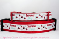 Summer Days dog collar