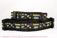 Summer Nights Dog Collar