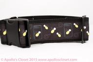 Lightning Bug dog collar