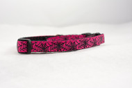 Halloween pink cat collar