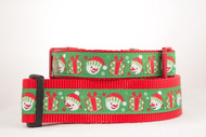 Snowmen Dog Collar