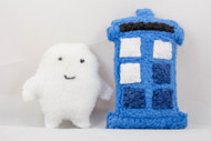 Tardis or Adipose Cat Toy