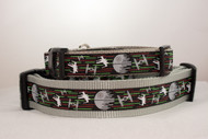 Death Star dog collar