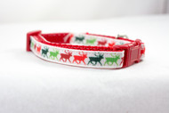 Christmas cat collar