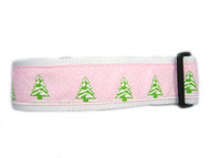 Cute pink christmas collar