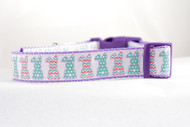 Easter dog collar