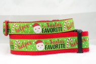 Santa's Favorite Helper dog collar