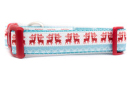 Reindeer dog collar