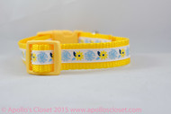 "Dandelion Spring Dog Collar 3/4"" wide"